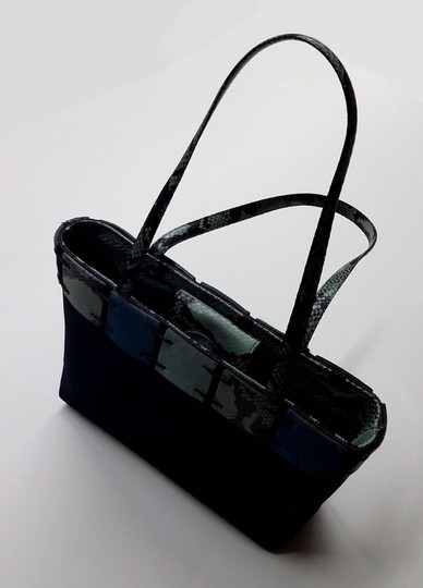 Berge Tote in Blue