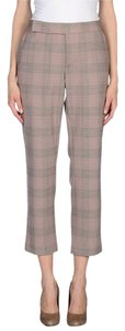 Thakoon Tartan Pattern Straight Leg Trouser Pants