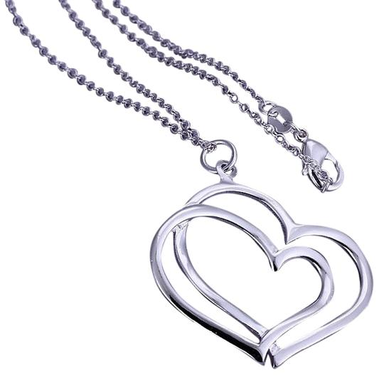 "Other Sterling Silver, Marked 925 2 Hearts Intertwined In Time "" TRUE LOVE FORVER"" You gotta have this!"