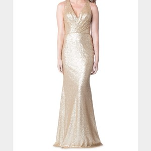 Bari Jay Champagne Dress