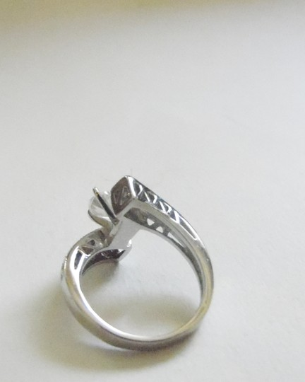 Victoria Wieck Victoria Wieck .925 Absolute Bypass Heart Ring Size 8 Image 1