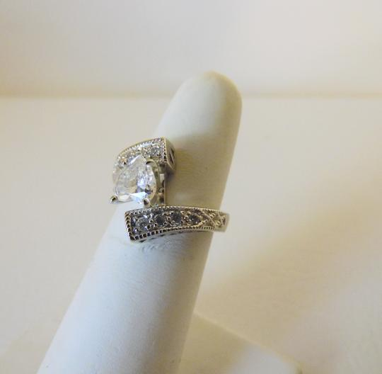 Victoria Wieck Victoria Wieck .925 Absolute Bypass Heart Ring Size 8 Image 11