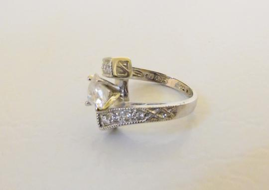 Victoria Wieck Victoria Wieck .925 Absolute Bypass Heart Ring Size 8 Image 3