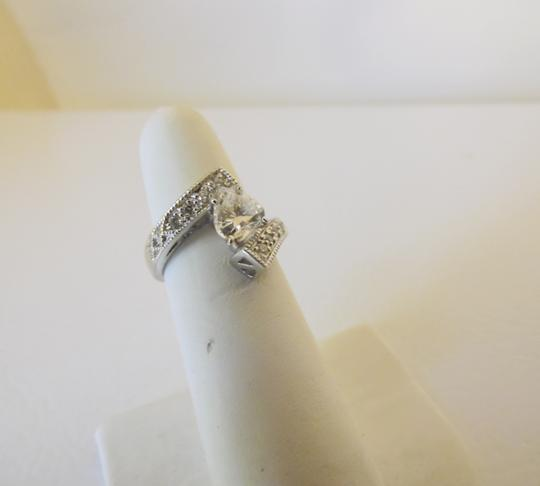 Victoria Wieck Victoria Wieck .925 Absolute Bypass Heart Ring Size 8 Image 5