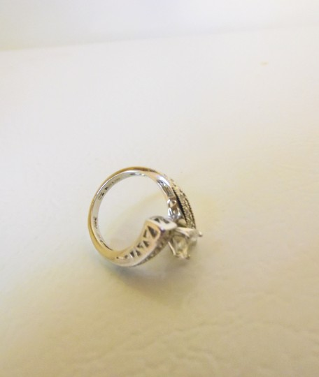 Victoria Wieck Victoria Wieck .925 Absolute Bypass Heart Ring Size 8 Image 6