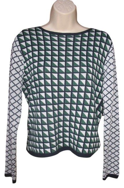 Trend Responsibly Top Shop Geometric Lightweight Longsleeve Sweater