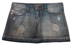 YMI Jeans Mini Skirt Blur