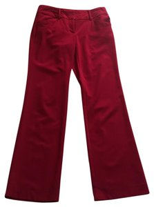 New York & Company Boot Cut Pants Red