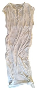 white Maxi Dress by Alexander Wang Lounge Wear Designer Trendy