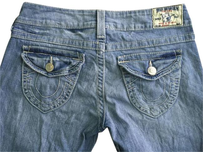 True Religion Tr Light Wash Straight Leg Jeans-Light Wash Image 1