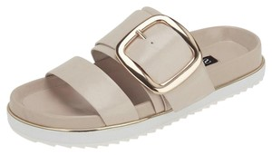SENSO Double Strap Leather Nude/ Pink Sandals