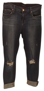 J Brand Distressed Skinny Skinny Jeans-Distressed