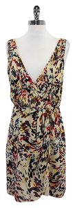 Alice + Olivia short dress Multi Color Splatter Print on Tradesy
