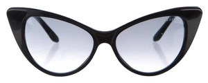 Tom Ford Black Acetate Tom Ford Nikita Cat-Eye Sunglasses