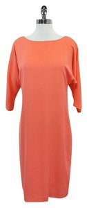 Diane von Furstenberg Coral 3/4 Sleeve Shift Dress