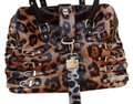 Jimmy Choo Gold Hardware Satchel in LEOPARD