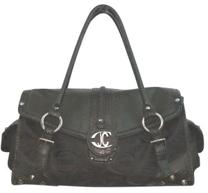 Roberto Cavalli Just Cavalli Black Satchel