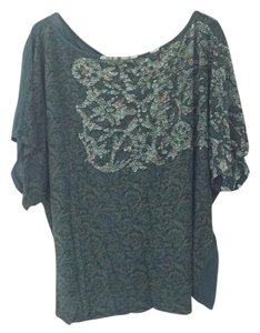Anthropologie T Shirt Green