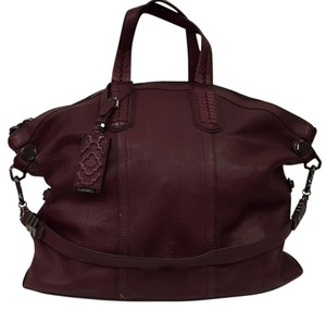 orYANY Satchel in Burgandy