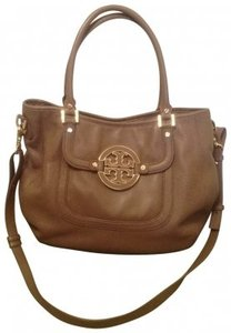 Tory Burch Leather Gold Hardware Hobo Bag