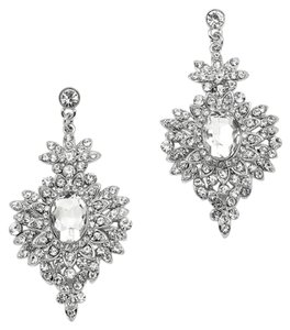 Mariell SHIPS NEXT DAY Retro Glam Crystal Drop Earrings