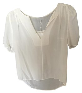 Joie Silk Top White/Cream