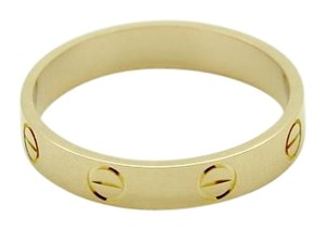 Cartier Cartier LOVE WEDDING BAND Ring with 18K pink Gold, size 7