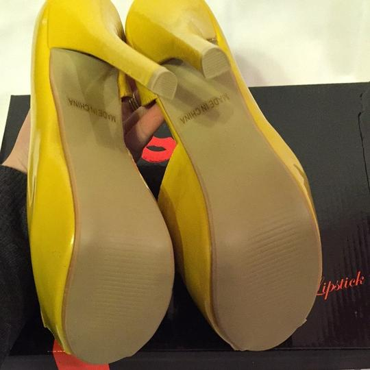 Red Kiss Yellow Platforms