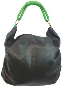 T-Bags Los Angeles T Black Hobo Bag