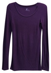 Stem T Shirt Aubergine