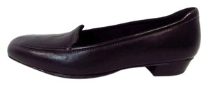 Clarks Slip On Cushioned Leather Loafers Black Flats