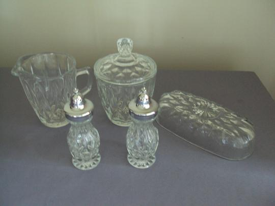 Anchor Hocking Vintage Anchor Hocking New In Box Condiment Set Image 1