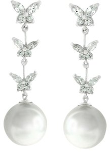 Other Butterfly Pearl Dangle Earrings [SHIPS NEXT DAY]