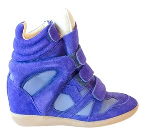 Isabel Marant Sneakers blue Wedges