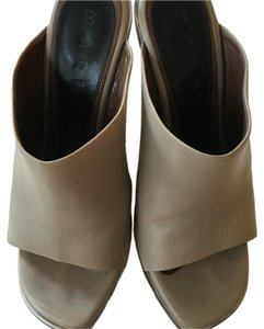 Marni Grey with a bluish tint Mules