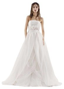 White by Vera Wang Ball Gown Strapless Dress