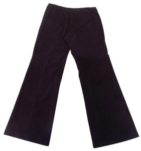 Nanette Lepore Trousers Wide Leg Pants Dark Chocolate