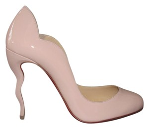 Christian Louboutin Wawy Dolly 100mm Nude Pumps