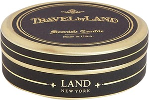 Off White Travel By Land Pine Needle Scented Candle In Can 1.35 Oz Made In Usa Single Wick