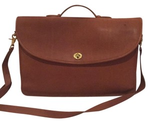 Coach Laptop Vintage Messenger Business Executive Tote in British Tan