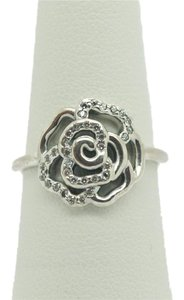 PANDORA Pandora Ale 925 Rose Sterling Sliver Ring with Diamonds