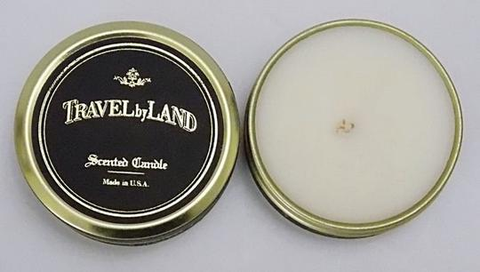 Off White Travel By Land Jasmine Scented Candle In Can 1.35 Oz Made In Usa Singl Image 1