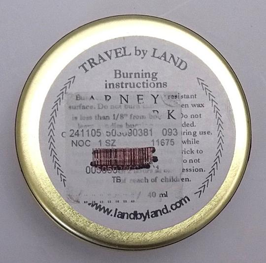 Off White Travel By Land Jasmine Scented Candle In Can 1.35 Oz Made In Usa Singl Image 3