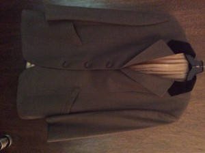 Burberry soft brown Blazer