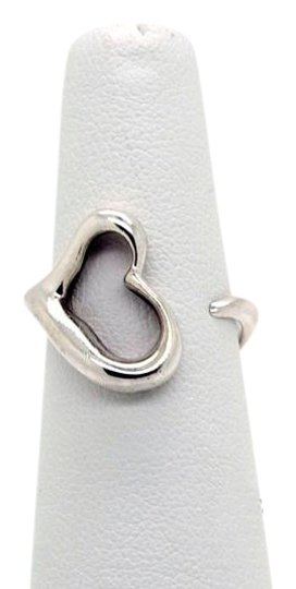Preload https://img-static.tradesy.com/item/18742315/tiffany-and-co-silver-elsa-peretti-sterling-open-heart-size-5-ring-0-1-540-540.jpg