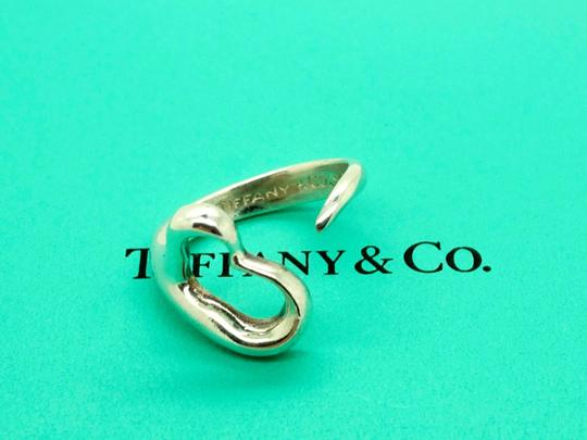 Tiffany & Co. Tiffany Co. Elsa Peretti Sterling Silver Open Heart Ring, Size 5 Image 2