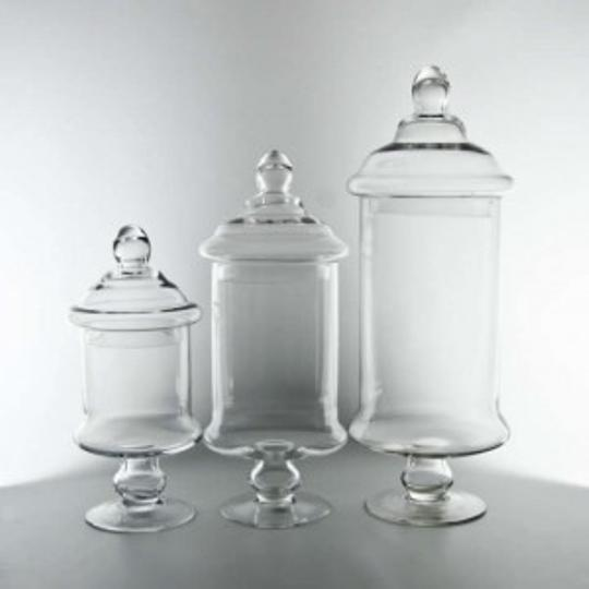 Preload https://item1.tradesy.com/images/clear-candy-buffet-jar-set-reception-decoration-187430-0-0.jpg?width=440&height=440