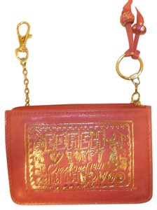 Coach Pink Leather Change Purse