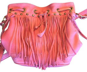Tylie Malibu Satchel in Hot Pink