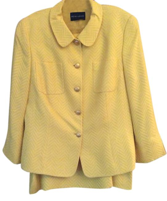 Preload https://img-static.tradesy.com/item/18743794/rena-lange-sun-yellow-sun-skirt-suit-size-12-l-0-1-650-650.jpg